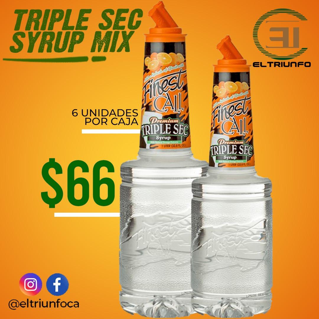 El Triunfo CA Venezuela, Mixer, Mixer Triple Sec Syrup Mix, Triple Sec Syrup Mix