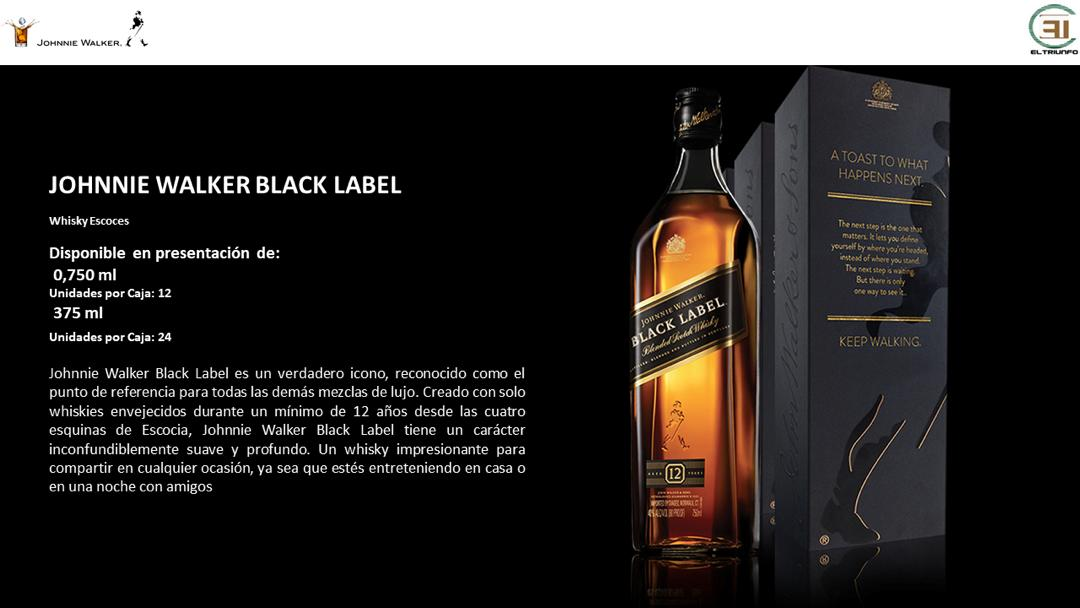 El Triunfo CA Venezuela, JW, JW BLack Label, Black Label